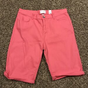 Childrens Place Boys Size 16 Pink Bermuda Shorts NWT A39