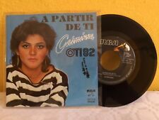 "CARMINNA A PARTIR DE TI MEXICAN 7"" SINGLE PS PROMO STAMPED POP EN ESPAÑOL"