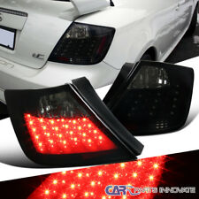 Glossy Black 04-10 Scion tC Smoke Lens LED Tail Lights Parking Brake Rear Lamps