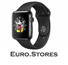 Apple Watch Reloj Inteligente de la serie 2 IOS Sport banda Bluetooth 4.0 Negro Genuino Nuevo