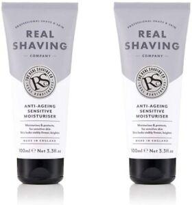 The Real Shaving Company Anti Ageing Sensitive Moisturiser For Men 100ml