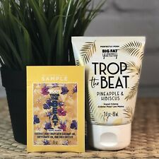 Perfectly Posh Hand Cream Trop The Beat � Pineapple Hibiscus � +Free Sample