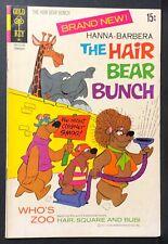 HANNA-BARBERA THE HAIR BEAR BUNCH #1 VF- TV Cartoon comic book Gold Key 1972