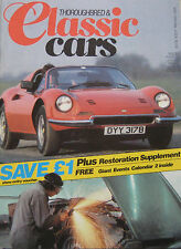 Classic Cars 05/1984 featuring Fiat 130 Coupe, Derby Bentley, Chevrolet Corvette