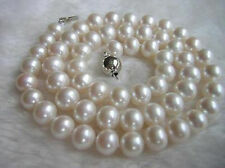 """Fashion Exquisite 8-9Mm White Akoya Cultivation Pearl Necklace Aa+ 18"""""""