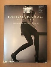 Donna Karan Hosiery The Signature Collection Sandalfoot Chocolate Tights Small