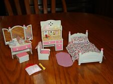 calico critters Pink Bedroom