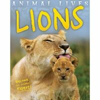 Animal Lives: Lions by Sally Morgan (Paperback, 2014)