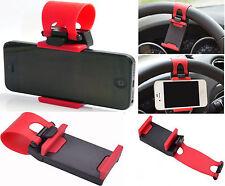 Universal Mobile Phone PDA Car Steering Wheel Mount Holder Clip Stand Cradle UK