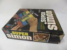 Super Simon MB JEUX ELECTRONIQUE 1981 rare complet MILTON BRADLEY