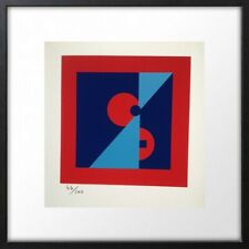 LUCIENNE OLIVIERI (1910-2007) RARE LITHOGRAPHIE ORIGINALE ABSTRACTION (4)