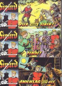 Sigurd Piccolo, 3. Serie, 3er Set mit den Heften Nr. 527-529, Neuware