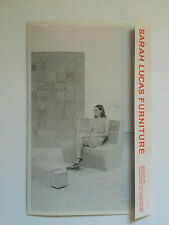 SARAH LUCAS, furniture brochure, Sadie Coles HQ gallery.