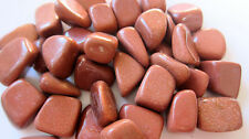 *ONE* Goldstone Tumbled Stone 25-30mm QTY1 Healing Crystal Protection Manmade