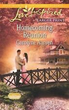 Homecoming Reunion (Love Inspired Large Print)-ExLibrary