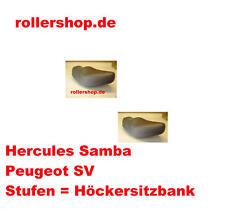 Sitzbankbezug für Peugeot SV 50, 80, 125 mit der Höcker, Stufensitzbank