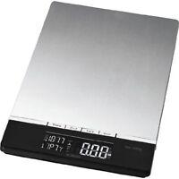 Bomann KW 1421 CB Edelstahl Küchenwaage digitale Anzeige bis 5 kg Tragkraft