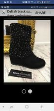 Wedge ankle Boots Size 4 New In Box