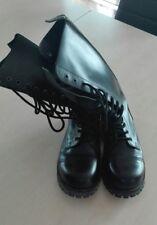 Boots and Braces 14-Loch Stiefel Rangers Springerstiefel Stahlkappe Schwarz GR41