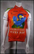 CUSTOM VOLER COLORADO EAGLE RIVER RIDE CYCLING JERSEY RACE RAGLAN WOMENS S