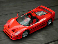 Maisto 1:18 Red 1995 Ferrari F50 V12 Roadster Detailed Model Sports Car Toy Box