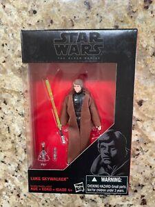 """Star Wars The Black Series 3.75"""" JEDI KNIGHT LUKE SKYWALKER Action Figure"""
