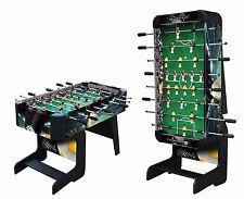 Playcraft Sport - 48 inch Foosball Table with Folding Legs - Black