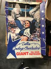 1981 TOPPS Dallas Cowboys CHEERLEADERS Giant Full Color PHOTO-CARDS 28 Packs