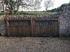 Wood Driveway Gate Garden Fence Gates Ebay