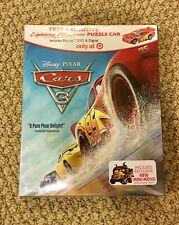 NEW DISNEY PIXAR CARS 3 BLU-RAY + DVD + DIGITAL HD + McQueen Puzzle Car
