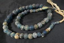 Antica perline di vetro carovane commerciali k2 African Antique Sahara trade beads afrozip