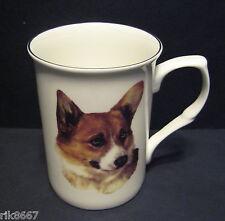 Corgi Dog (Head BF) Fine Bone China Mug Cup Beaker