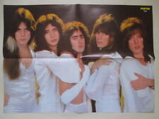 Angel Punky Meadows Frank DiMino Thin LIzzy Kiss POSTER Sweden 1970s
