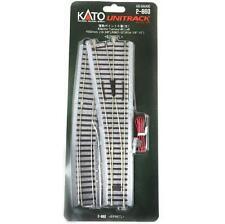 Kato 2-860 Aiguillage Gauche / Electric Turnout Left #6 R867 10° - HO