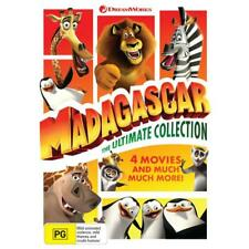 Madagascar The Ultimate Collection 4 Movies DVD Set R4 Posted From Sydney NSW