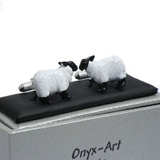 Sheep Novelty Cufflinks by Onyx Art New in Box CK580