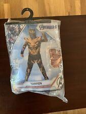 Marvel Avengers Endgame Halloween Thanos Child Costume Size Large 12-14 In Bag