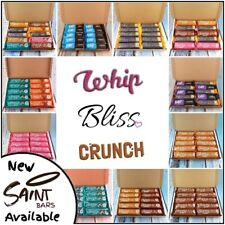 10 x Skinny whip bars, dream, bliss, crunch mix, Mint, strawberry, toffee,