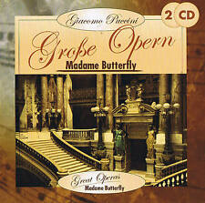 "Giacomo Puccini "" Madame Butterfly "" Great Operas 2 CD Box New & Original"