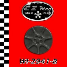 WI-2941-B 7-Spoke Racing Wheel EZ Mag Wheel Inserts Fits H&R Chassis Slot Cars