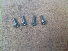 HONDA C70 DREAM C71 CS71 C76 NOS JIS PETROL GAS FUEL TANK BADGE SCREWS SET