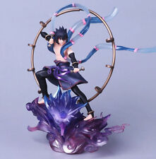"Naruto Shippuden Uchiha Sasuke Raijin GEM Series Remix Statue 7"" New in Box"