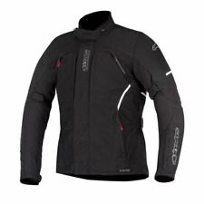 Alpinestars Ares Gore-tex Black Motorcycle Jacket Size - Large 360601710l
