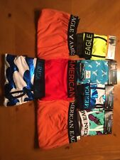 Lot Of 8 Men's American Eagle Boxers Size M Medium 32-34 Waist
