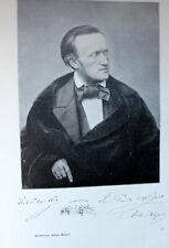 Richard Wagner-  Buch von Houston Stewart Chamberlein 1896