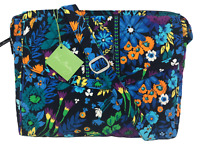 VERA BRADLEY Tablet Hipster Crossbody Bag in MIDNIGHT BLUES Retired Excellent!