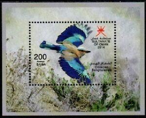 029 Oman 2014 Birds - MNH
