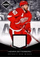 Henrik Zetterberg Detroit Red Wings 2011 Panini Jersey Card 96/99