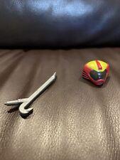 Biker Mice From Mars Weapon Vinnie Helmet & Crowbar Original Figure Accessories