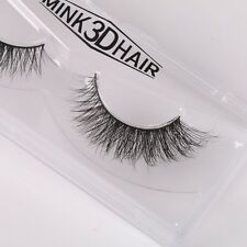 3D Mink Natural Curling Thick False Fake Eyelashes Eye Lashes Makeup Extension